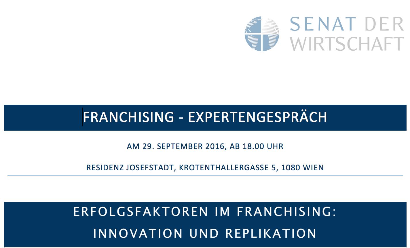 SdW-Franchising - Einladung 2016-09-29