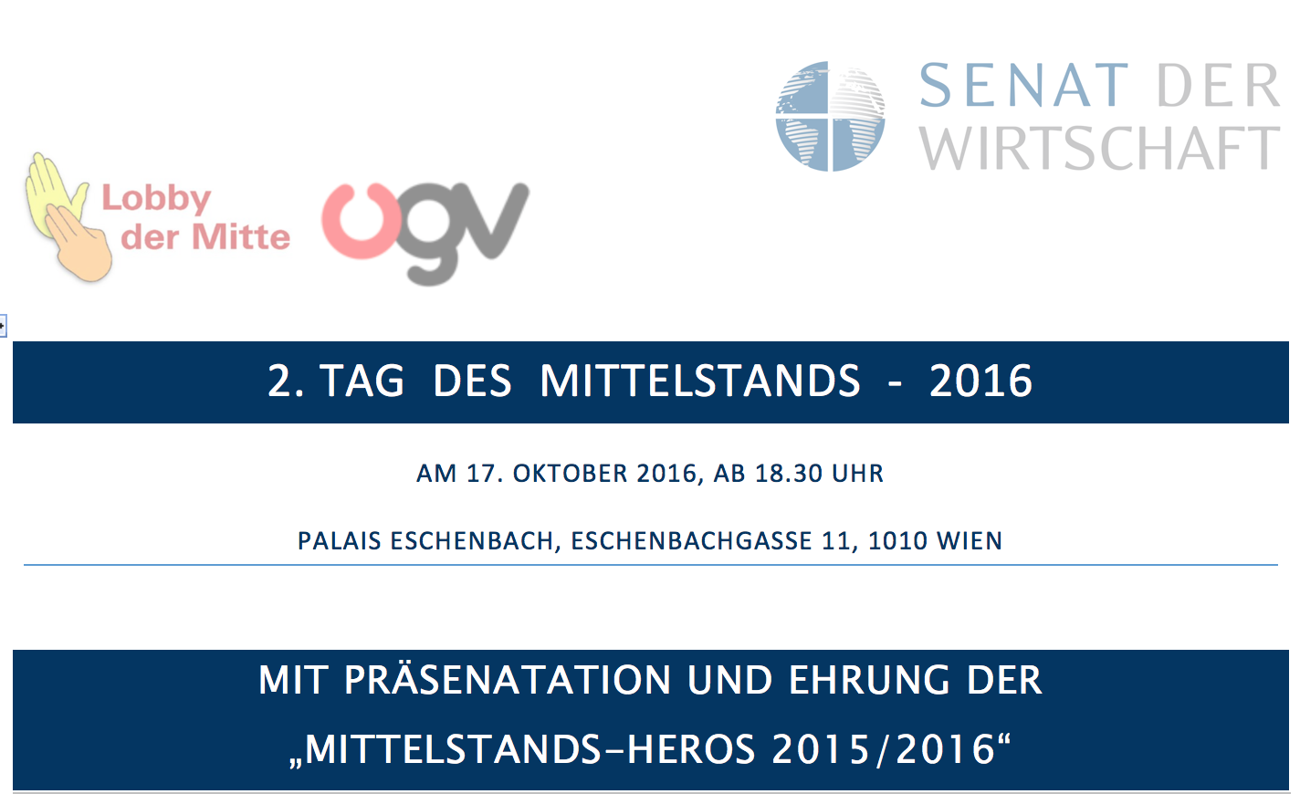 Sdw-Mittelstands-Tag - Header