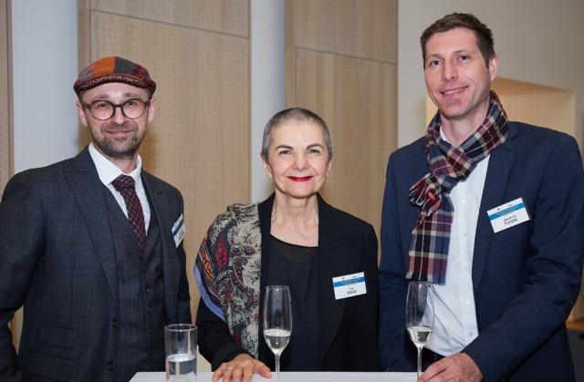 v.l.n.r.: Thomas Angerer (umadum GmbH), Psychotherapeutin Eva Gold, Manfred Fuger (umadum GmbH)